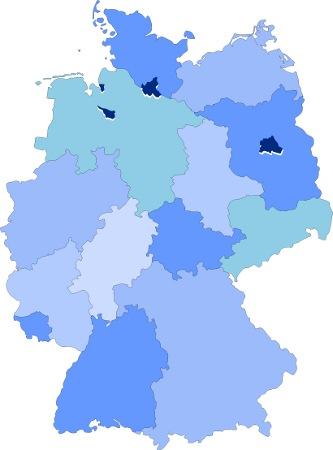 Mitgliedschulen in ganz Deutschland