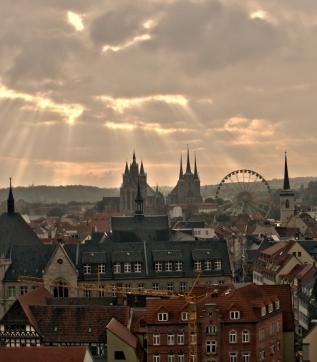 Erfurter Abendstimmung - Foto: Matthias Feige
