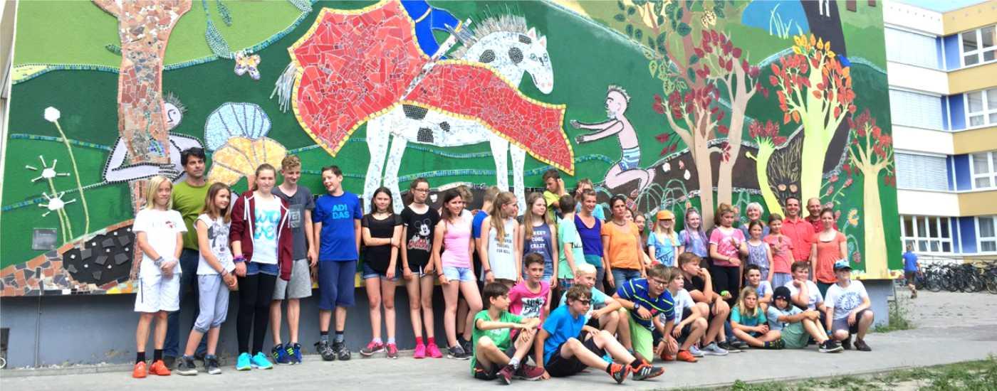 Geförderte Schulprojekte: Kunstprojekt